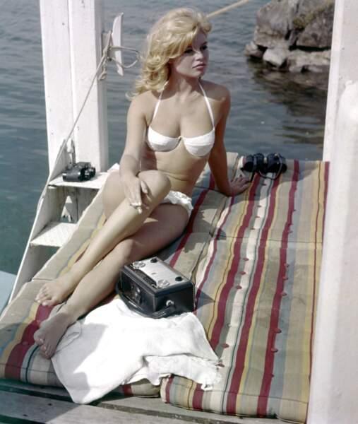 Brigitte Bardot en 1962