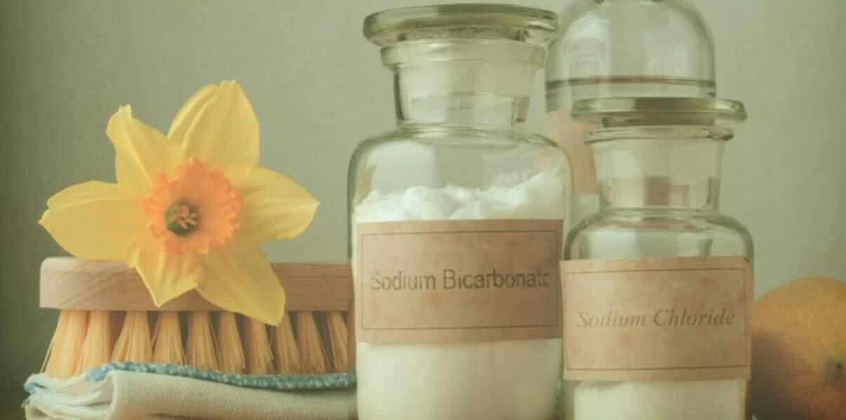 Le bicarbonate de soude pour remplacer l'eau de Javel