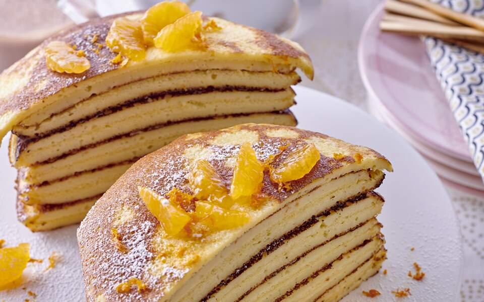 Le gâteau de crêpes mi-cuites de Christophe Felder