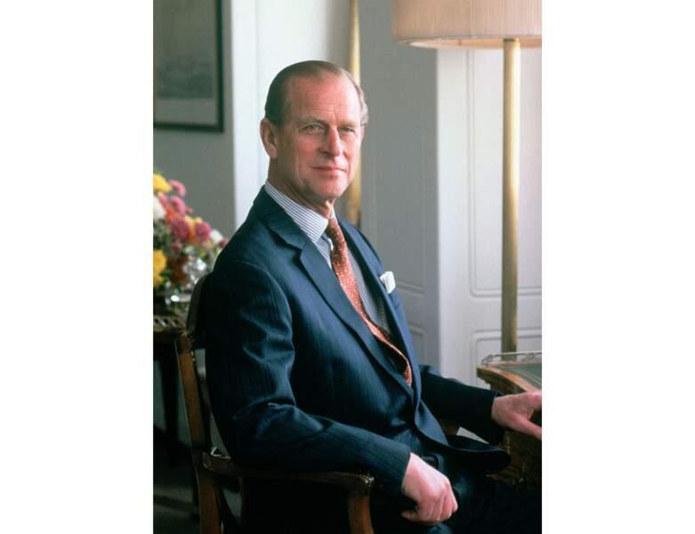 En 1981, le mari d'Elizabeth II fête ses 60 ans
