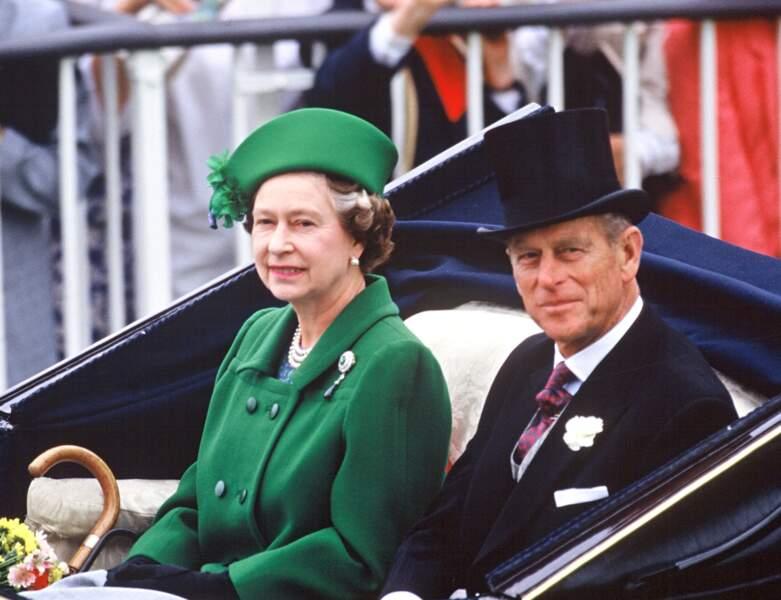 Le couple royal en 1988