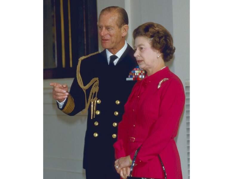 1984 : le mari d'Elizabeth II est âgé de 63 ans