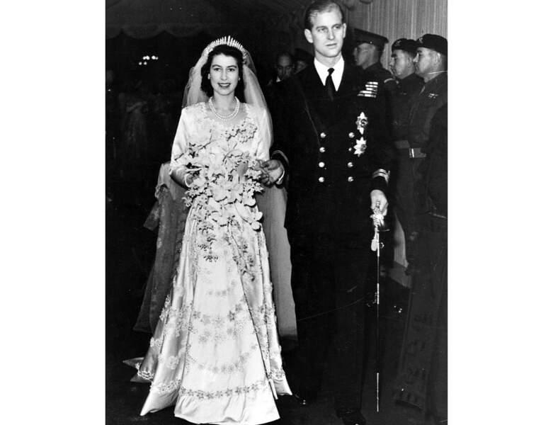 1947 : le couple se marie !
