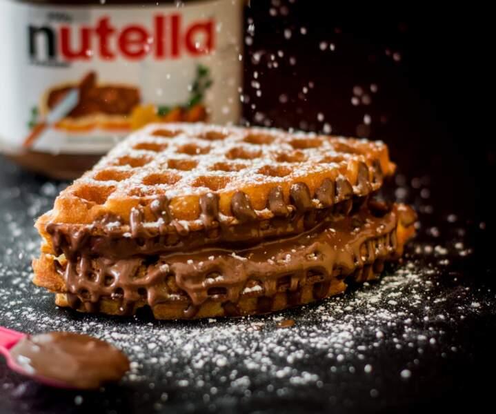 Gaufres au Nutella®