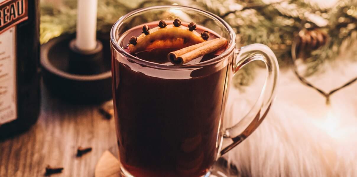 Cocktail Cointreau vin chaud