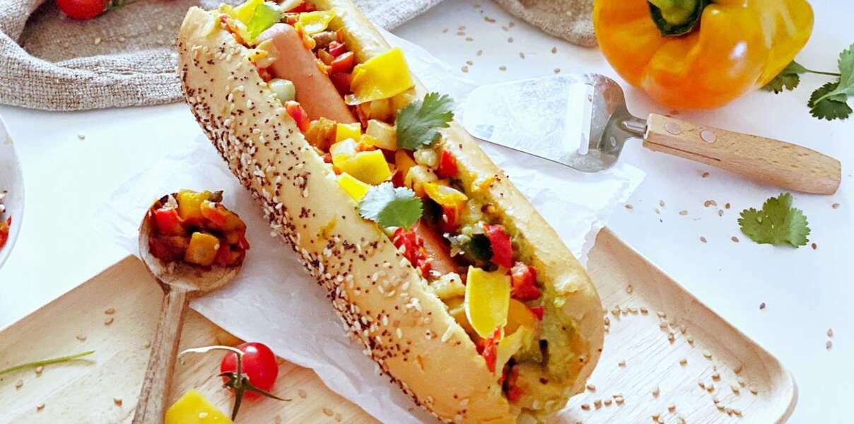 Hot dog façon salsa