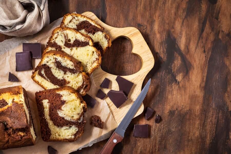 Gâteau marbré moelleux chocolat et vanille : la vraie recette de Cyril Lignac