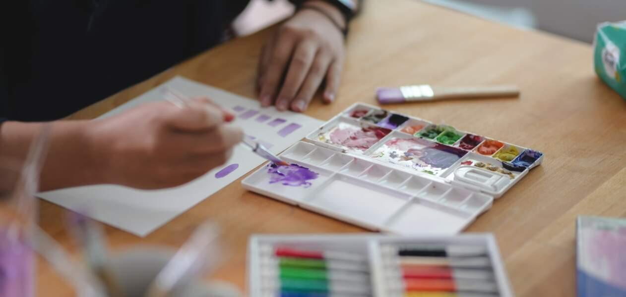 Organiser un atelier de peinture