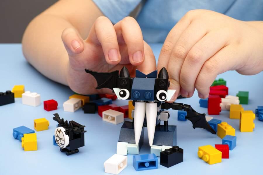 Construire des animaux en Lego