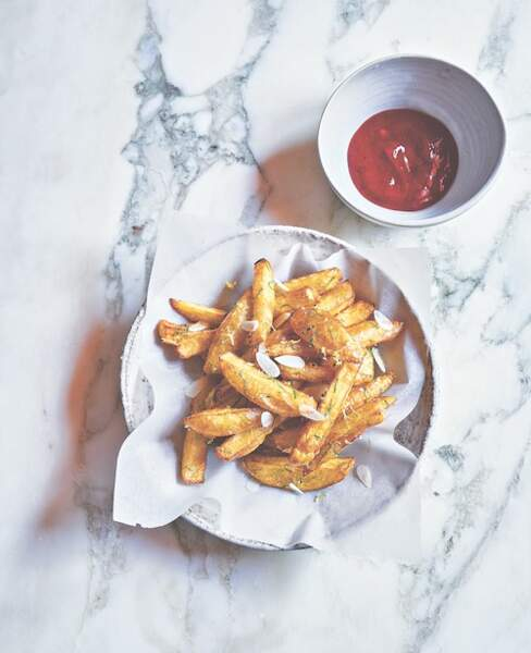 Frites et Ketchup maison de Stéphanie Le Quellec