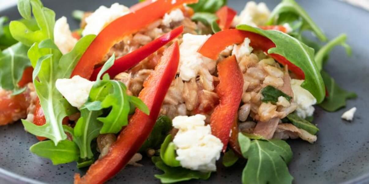 Salade de thon presque mexicaine