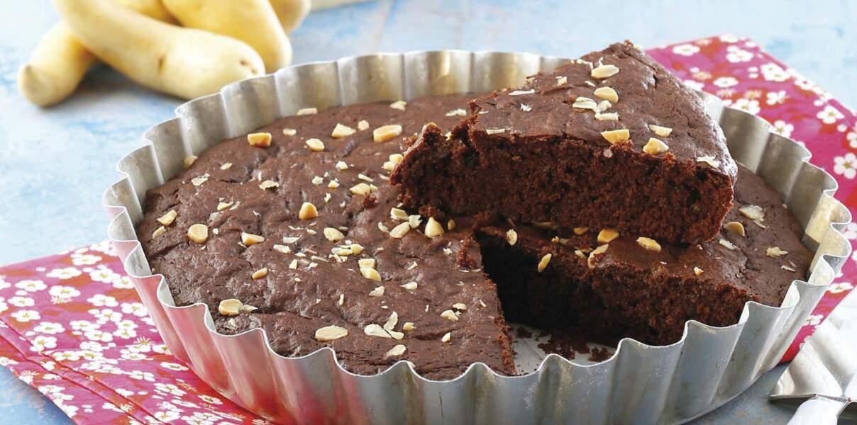 Gâteau au chocolat de Rattes du Touquet