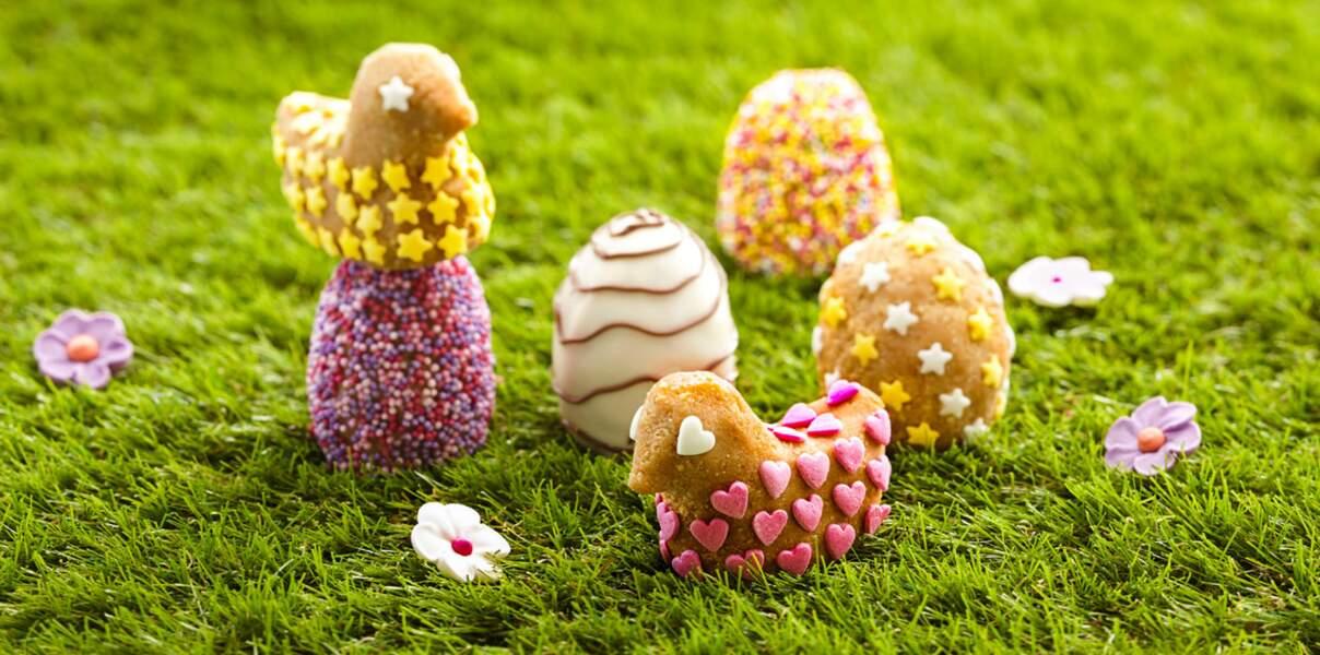 Œufs de Pâques en chocolat