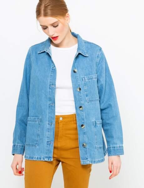 Veste en jean : boyish
