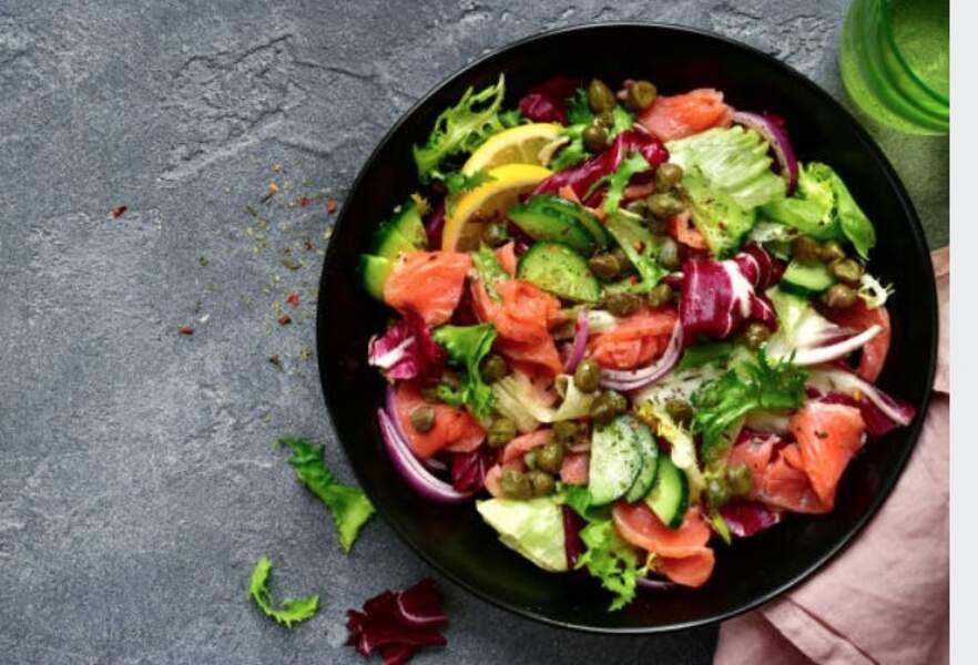 Salade de saumon frais
