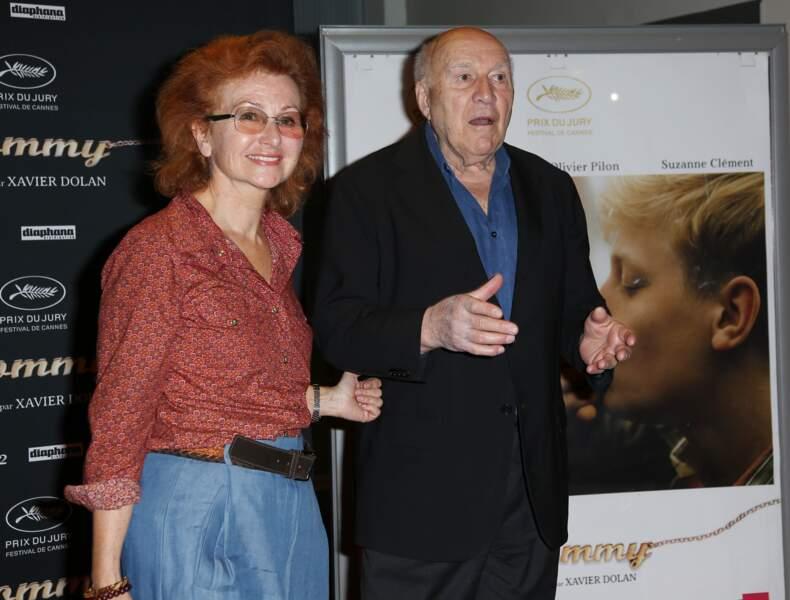 Ludivine Clerc et Michel Piccoli