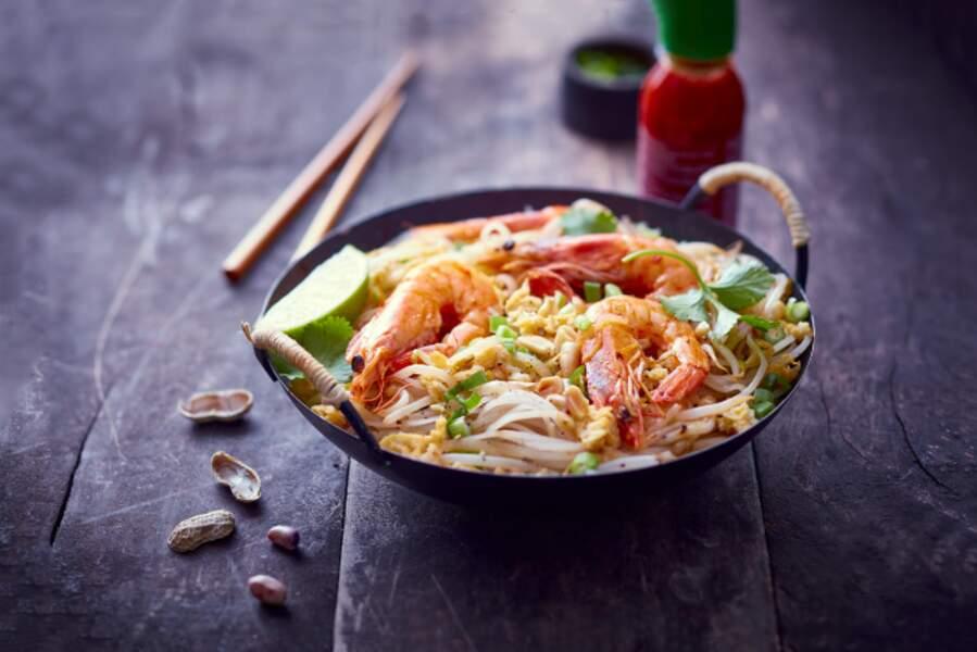 """""""Tous en cuisine"""" : la recette des Pad Thaï de Cyril Lignac"""