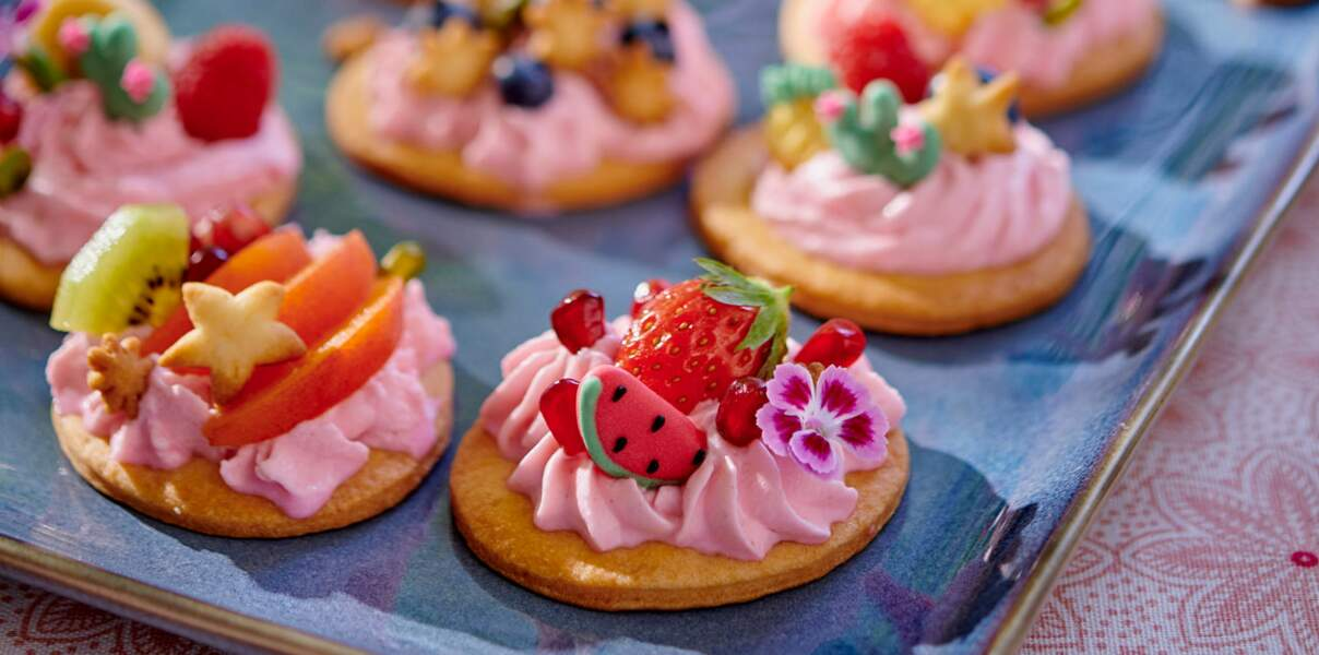 Tartelettes tentations du verger