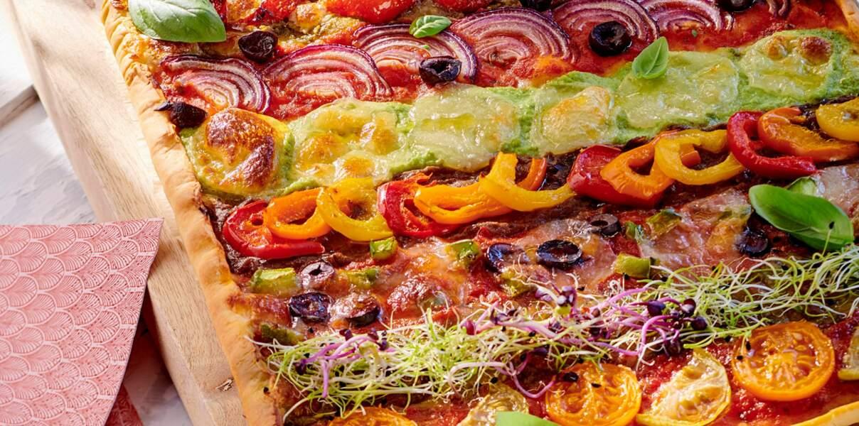 Pizza arlequin