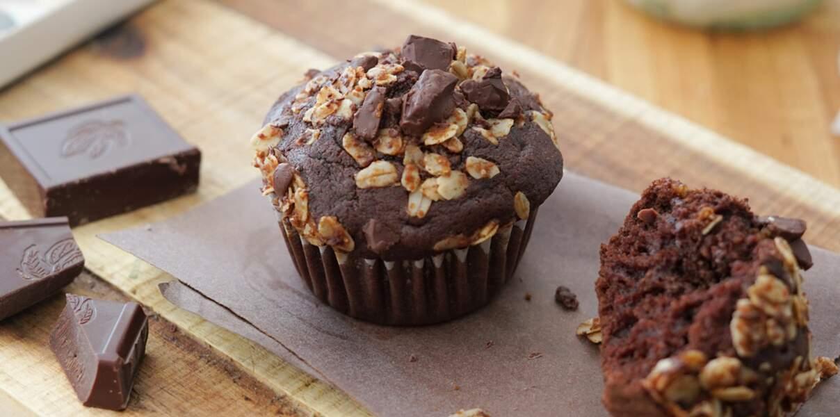Muffins chocolat-coco