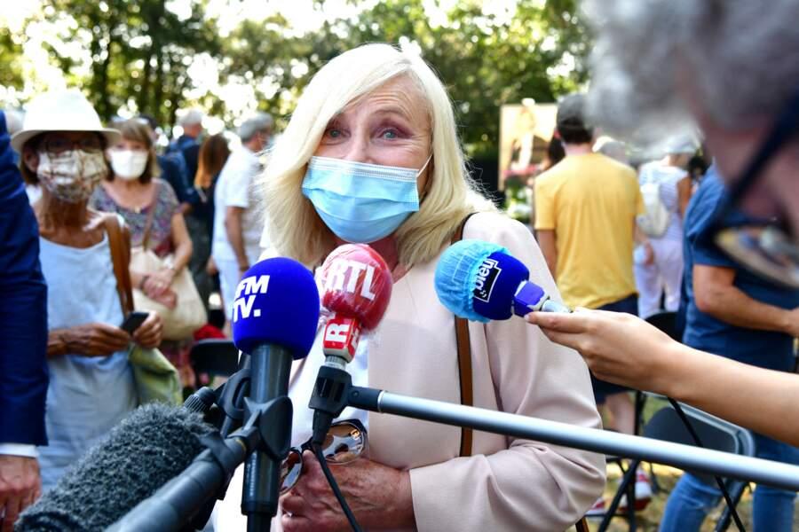 Michèle Torr étaient également présente lors de la cérémonie