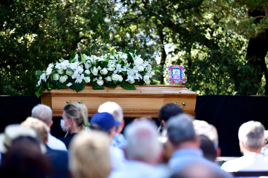 Obsèques d'Annie Cordy sur la Butte Saint-Cassien à Cannes