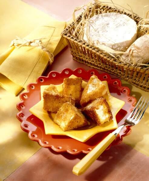 """""""Tous en cuisine"""" : la recette du camembert pané façon croque monsieur de Cyril Lignac"""
