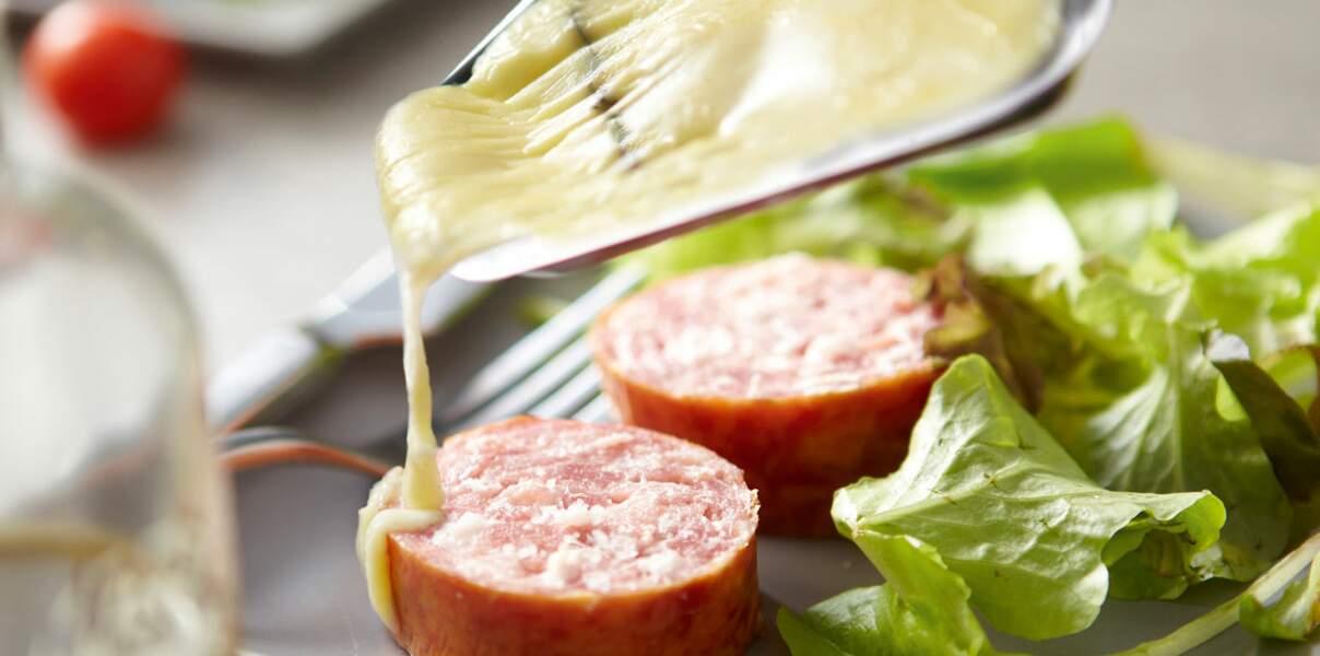 Raclette au morbier