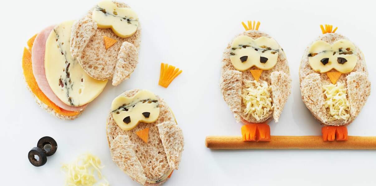 Sandwichs piafs au morbier