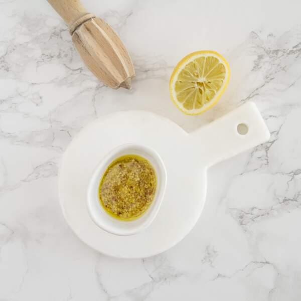 Vinaigrette à l'huile d'olive et citron