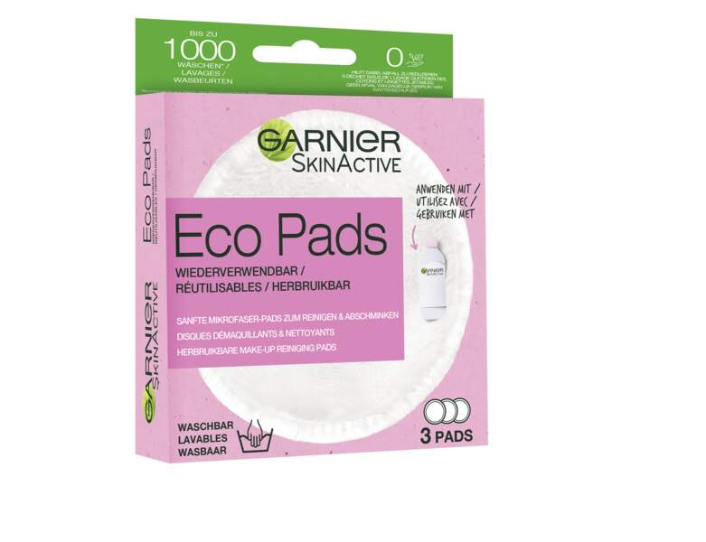 Eco-Pads Réutilisables de Garnier,