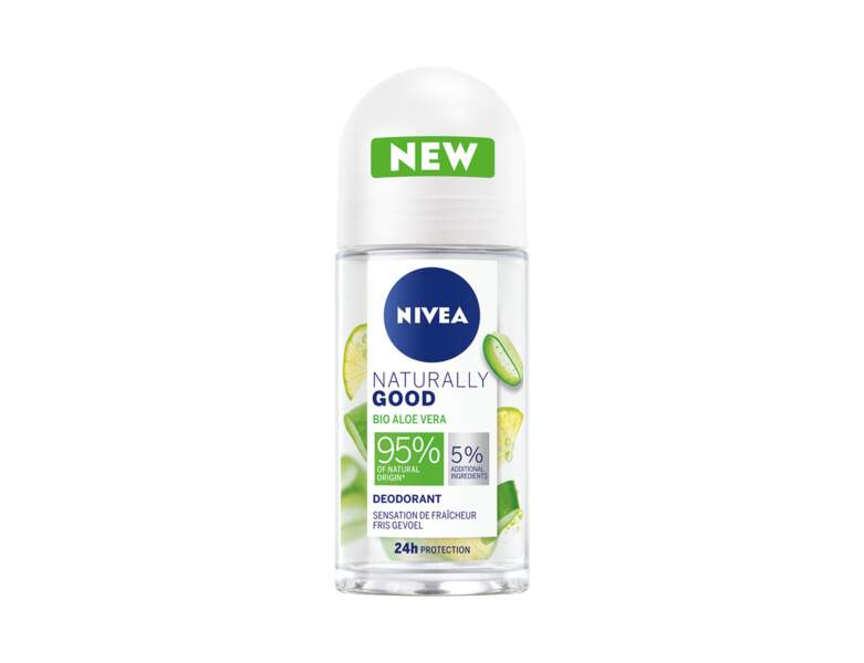 Déodorant aloe vera bio Naturally Good de Nivea