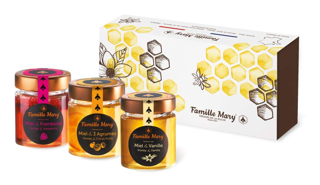Cadeaux gourmands : Famille Mary