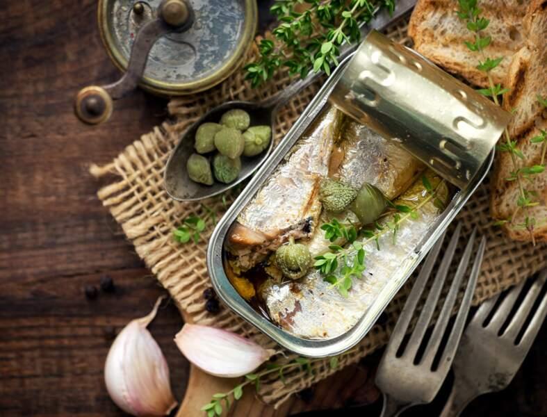 10 recettes avec une boîte de sardines à l'huile