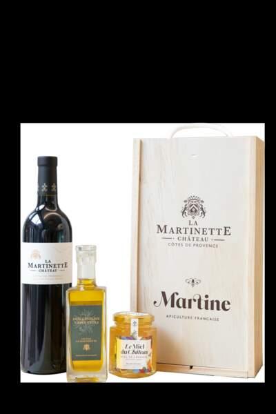 Cadeaux gourmands : Miel Martine x Château La Martinette