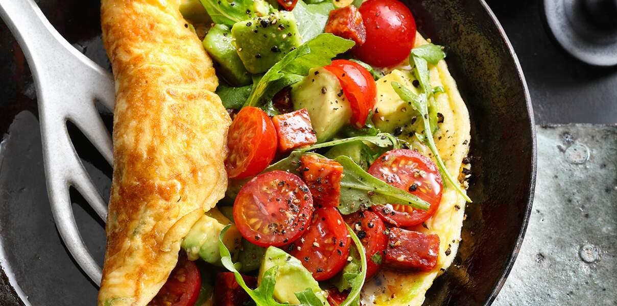 Omelette à l'espagnole