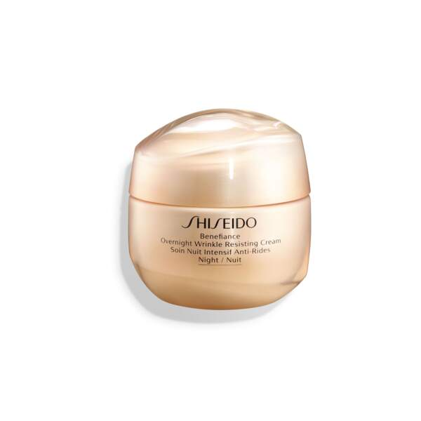 Soin de nuit intensif Benefiance de Shiseido