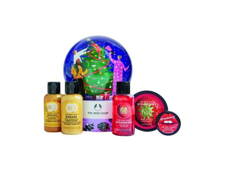 Coffret boule de Noël de The Body Shop