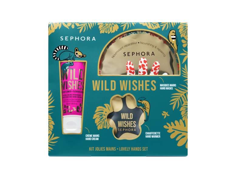 Kit Jolies mains, Wild Wishes de Sephora