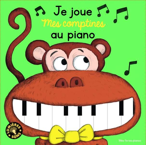 Je joue mes comptines au piano (éd. Gallimard jeunesse)
