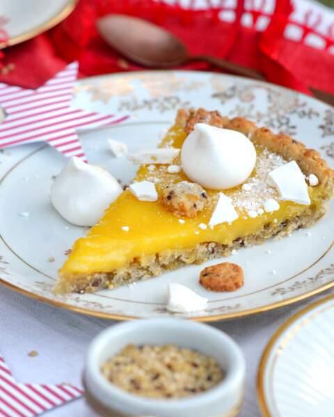 Tarte fine au citron, quinoa et boulgour Vivien Paille