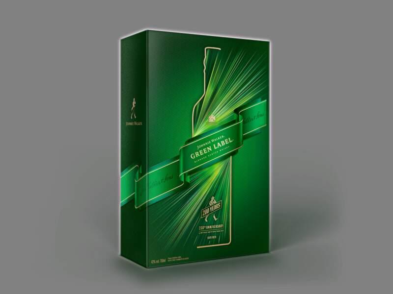 Cadeaux gourmands : Johnnie Walker Green Label