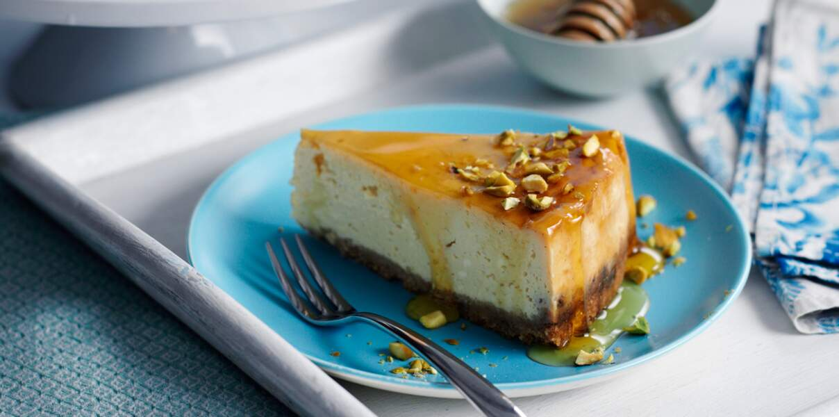 Cheesecake rapide au sirop d'érable