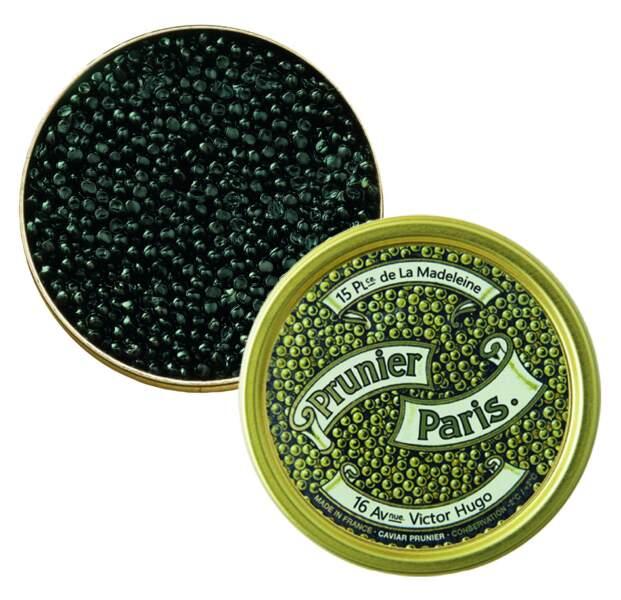 Cadeaux gourmands : Caviar Prunier