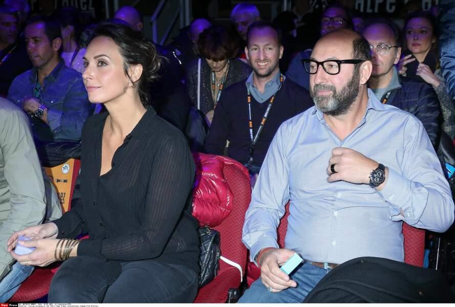 Julia Vignali et Kad Merad à la 19e édition du Festival de l'Alpe d'Huez