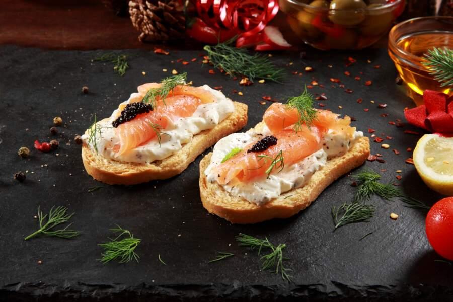Foie gras, tarama, saumon fumé... les erreurs que l'on fait tous en préparant les toasts