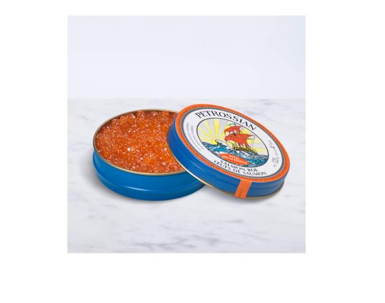Cadeaux gourmands : Les Œufs de Saumon Sauvage Petrossian