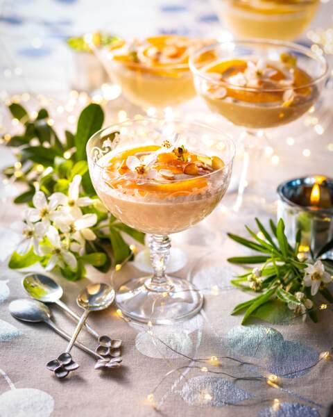 Mousse au chocolat blanc et muscat de Rivesaltes