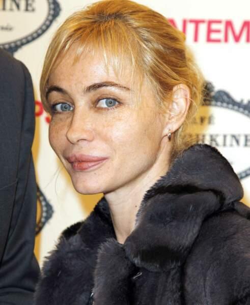 Le blond jaune d'Emmanuelle Béart