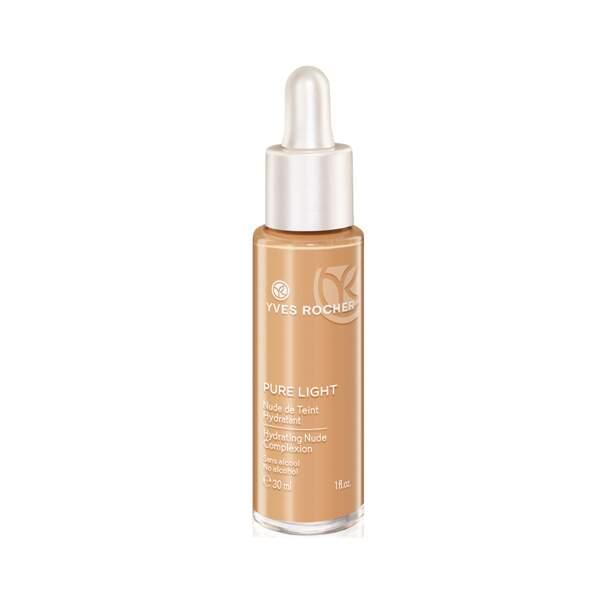 Pure Light Nude de Teint Hydratant, Yves Rocher,  30 ml, prix indicatif : 21,80€